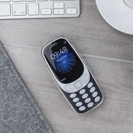 Olixar Ultra-Thin Nokia 3310 2G (2017) Case - 100% Clear