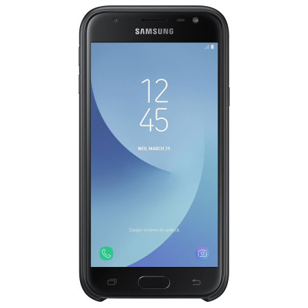 Official Samsung Galaxy J3 2017 Dual Layer Cover Case - Black