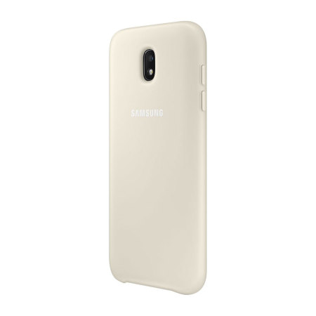 Official Samsung Galaxy J3 2017 Dual Layer Cover Case - Gold