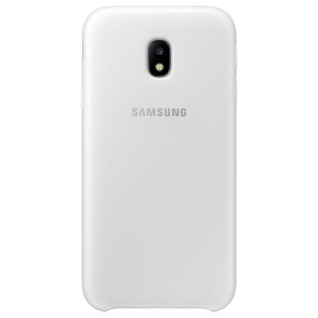Official Samsung Galaxy J3 2017 Dual Layer Cover Case - White