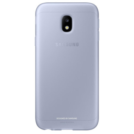 Official Samsung Galaxy J3 2017 Jelly Cover Case - Blue