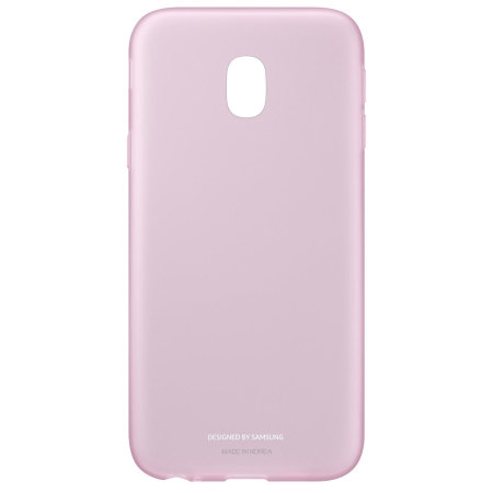 Official Samsung Galaxy J3 2017 Jelly Cover Case - Pink