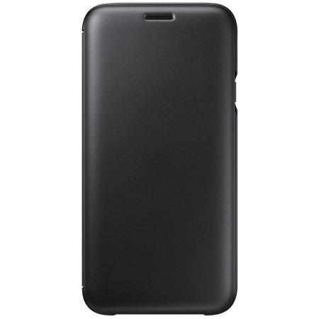quality design a3e8c ce5b0 Official Samsung Galaxy J7 2017 Wallet Cover Case - Black