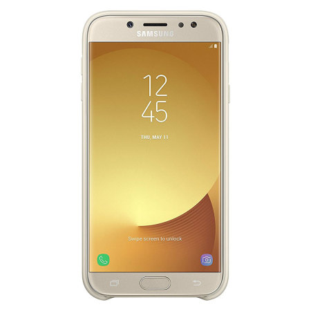 Official Samsung Galaxy J7 2017 Dual Layer Cover Case - Gold