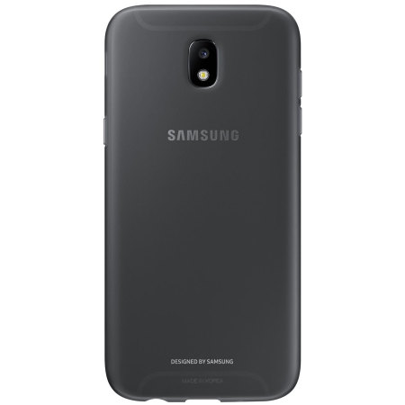 Official Samsung Galaxy J7 2017 Jelly Cover Case - Black