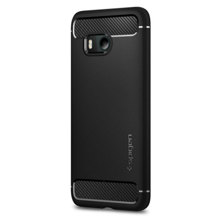 Spigen Rugged Armor HTC U11 Tough Case - Black