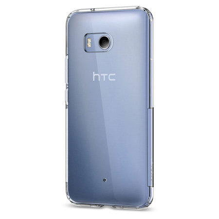Spigen Liquid Crystal HTC U11 Shell Case - Clear