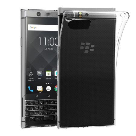 coque blackberry keyone olixar flexishield transparente. Black Bedroom Furniture Sets. Home Design Ideas