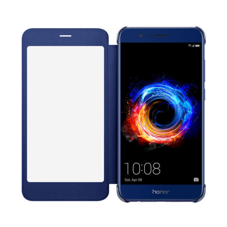 low priced c16a4 cf963 Official Huawei Honor 8 Pro Flip View Cover - Blue