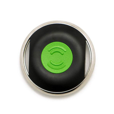 Tracker Biisafe Buddy V3 Smart Button - Noir / Vert