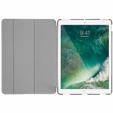 Macally BookStand iPad Pro 12.9 2017 Smart Case - Grey