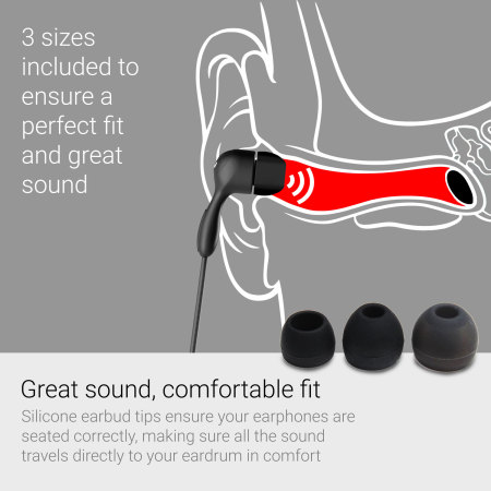 GoGear Tunes Noise-Isolating Earphones with Mic