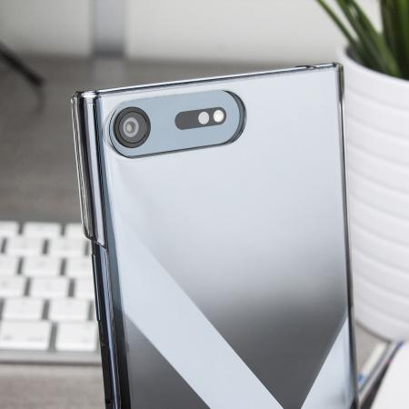 Muvit MFX Crystal Sony Xperia XZ Premium Hard Shell Case - Clear