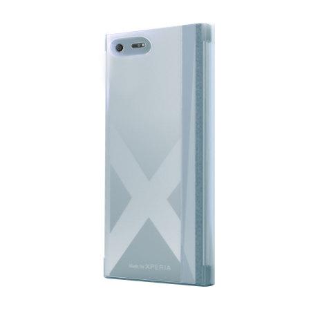 sale retailer 8a1be c28ea Muvit MFX Sony Xperia XZ Premium Touch Flip Folio Case - Clear