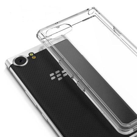Rearth Ringke Fusion BlackBerry KEYone Skal - Klar