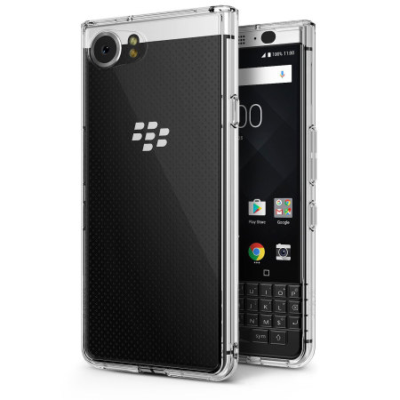 Rearth Ringke Fusion BlackBerry KEYone Case - Clear