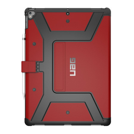 UAG Metropolis Rugged iPad Pro 12.9 2017 Folio Case - Magma Red