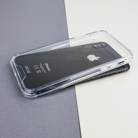 Funda iPhone X Olixar ExoShield - Transparente