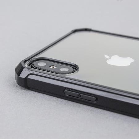 olixar exoshield tough snap on iphone x case   zwart
