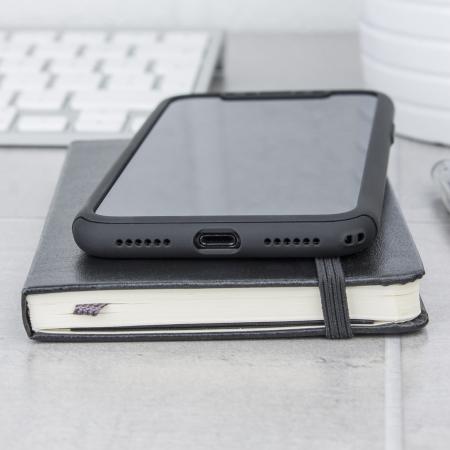 olixar x trio full cover iphone 7 plus case rose gold