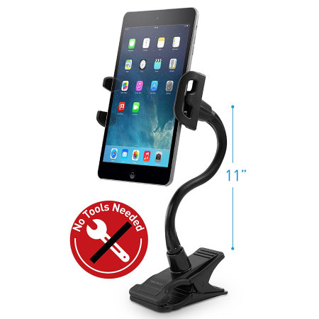 Support bureau universel Macally Clipmount pour smartphone & tablette