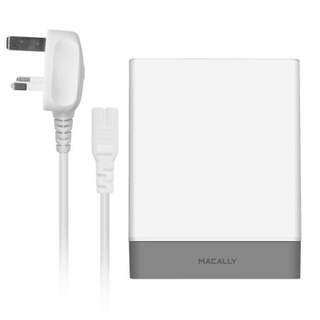 Macally 72W 4 Port USB-C PD / USB-A Wall Charger - UK Mains