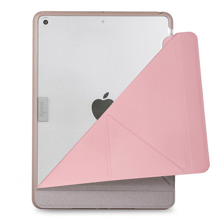 Moshi VersaCover iPad 2017 Folding Origami-Style Stand Case - Pink