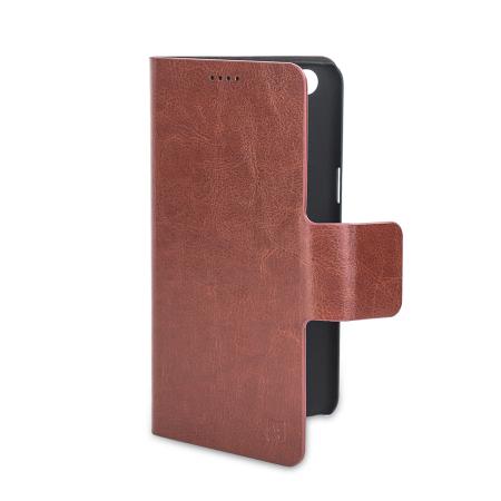 Olixar Leather-Style OnePlus 5 Suojakotelo - Ruskea