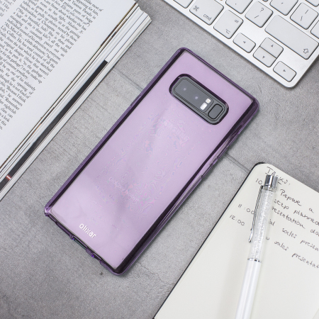 Olixar FlexiShield Samsung Galaxy Note 8 Gelskal - Lila