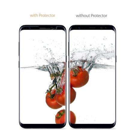 innovative design b9d23 b0549 Spigen Samsung Galaxy S8 Plus Neo Flex Screen Protector