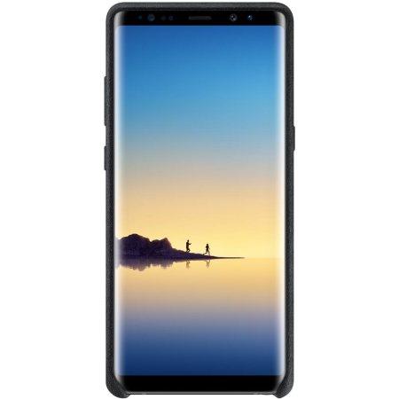 Official Samsung Galaxy Note 8 Alcantara Cover Case - Black