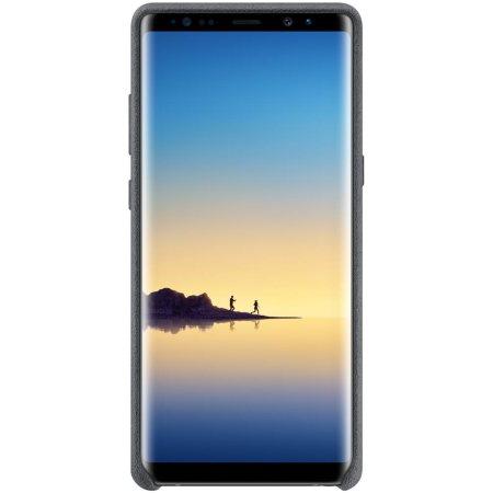 Official Samsung Galaxy Note 8 Alcantara Cover Case - Dark Grey