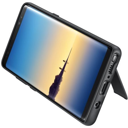 Official Samsung Galaxy Note 8 Protective Stand Cover Case - Black