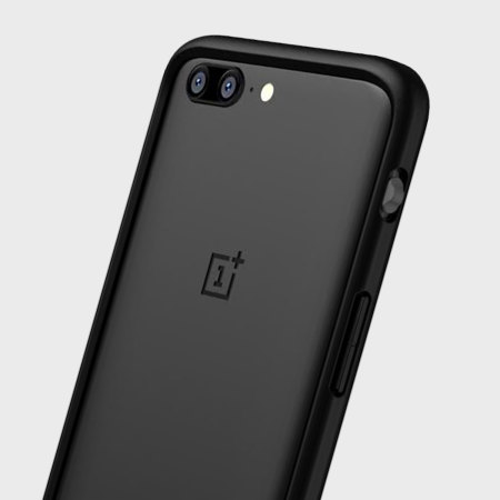 newest ee482 86f29 RhinoShield CrashGuard OnePlus 5 Protective Bumper Case - Black