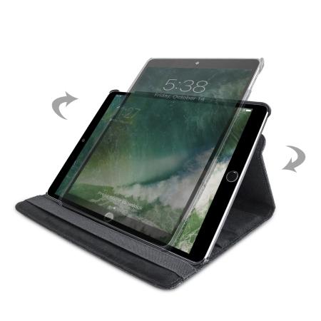 Olixar iPad Pro 10.5 Luxury Rotating Stand Fodral - Svart Floral
