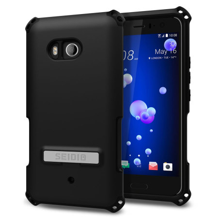Seidio Dilex HTC U11 Tough Kickstand Case - Black