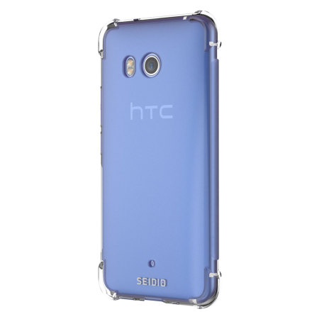 Seidio Optik HTC U11 Gel Case - Clear