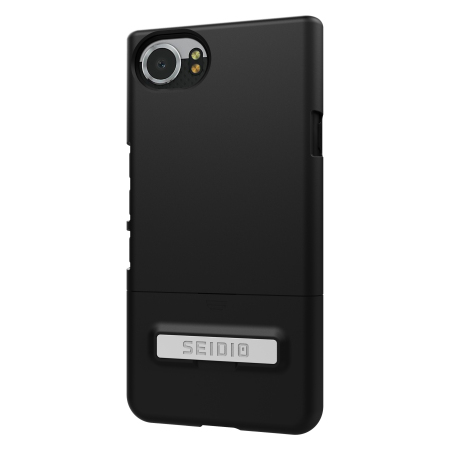 Seidio SURFACE BlackBerry KEYone Case & Metal Kickstand - Black