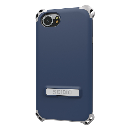 Seidio Dilex BlackBerry KEYone Tough Kickstand Case - Blue / Grey