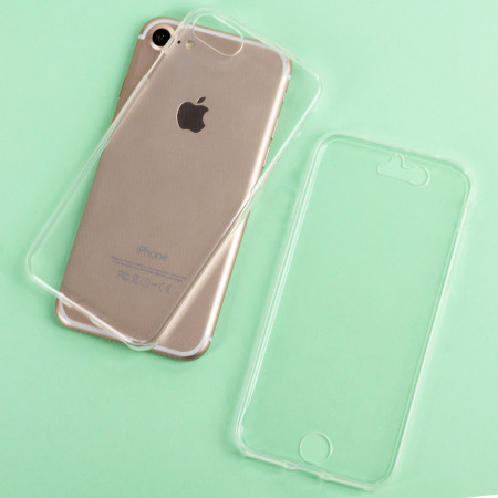 Olixar FlexiCover Complete Protection iPhone 7S Gel Case - Clear