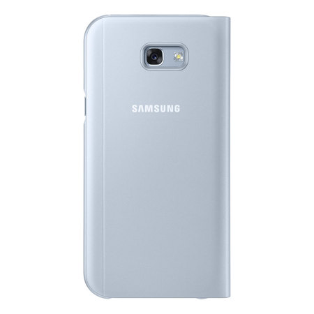 Official Samsung Galaxy A7 2017 S View Premium Cover Case - Blue