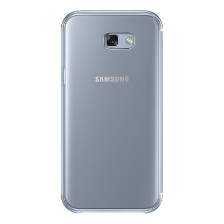 buy online ca54c f5913 Official Samsung Galaxy A7 2017 Clear View Stand Cover Case - Blue