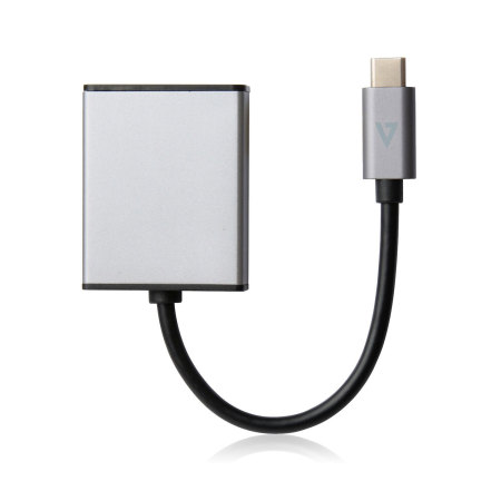 VSeven USB-C to HDMI Adapter - Grey Aluminium