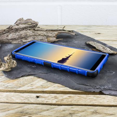 Olixar ArmourDillo Samsung Galaxy Note 8 Protective Case - Blue