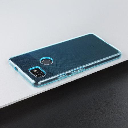 Olixar FlexiShield Google Pixel 2 XL Gel Case - Blue