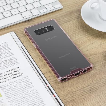 the best attitude 8639b c403b Olixar ExoShield Tough Snap-on Samsung Galaxy Note 8 Case - Rose Gold