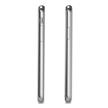 moshi iglaze iphone x ultra slim case - pearl white