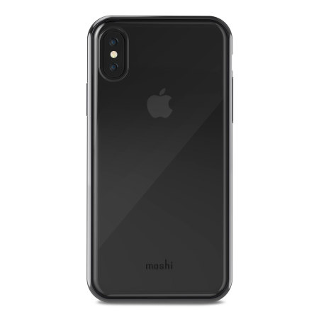 moshi vitros iphone x slim case - raven black