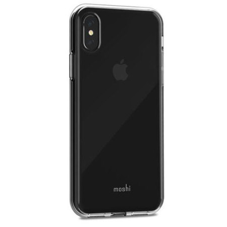 moshi vitros iphone x slim case - clear