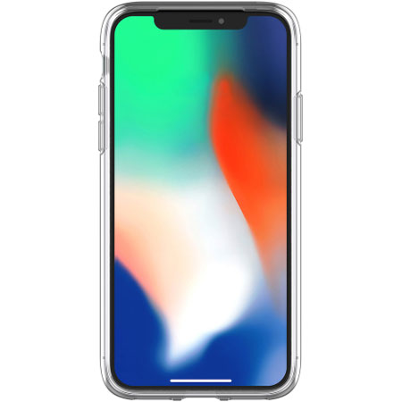 OtterBox Clearly Protected iPhone X Skin Gelskal - Klar